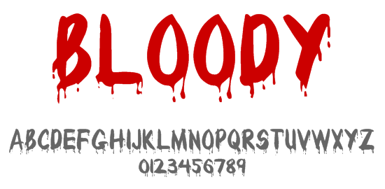 Top 10 Horror and Scary Fonts for Halloween