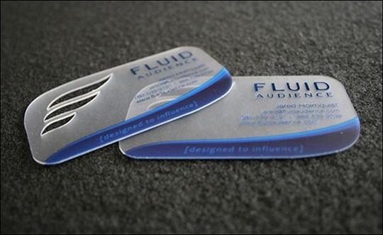fluid audience business card
