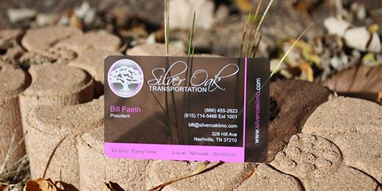 tint business card