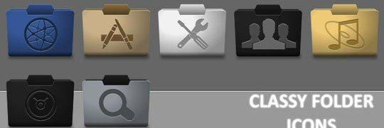 Classy Folder Icons