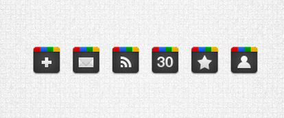Google Plus Icons Collection
