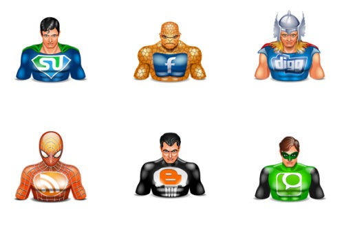 Halloween Avatars Social Superheros