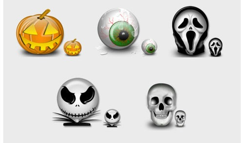 Halloween Vista Icons for MAC