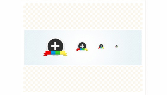 Google Plus( ) Circular Icon Set