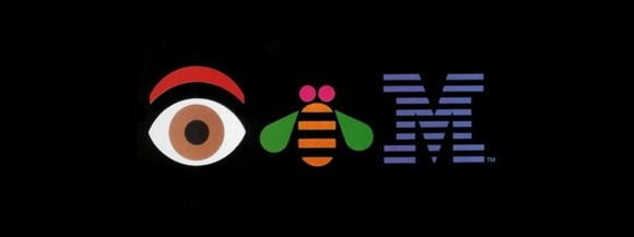 IBM logo with hidden messages
