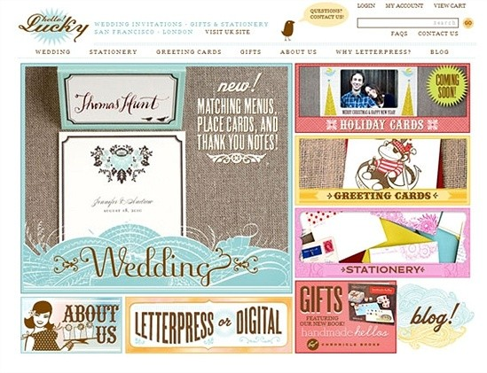 Hello! Lucky—Invitations, Gifts, and Stationery
