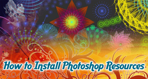 Install Photoshop Resources