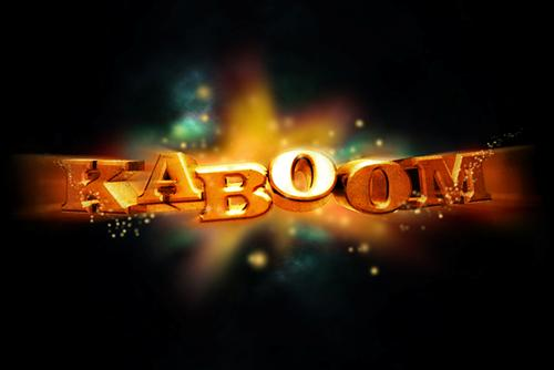 Kaboom! Exploding Text