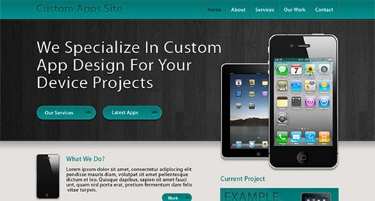 CREATE A CUSTOM APP SITE LAYOUT