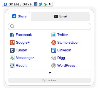 Share Buttons by Lockerz WordPress Plugin