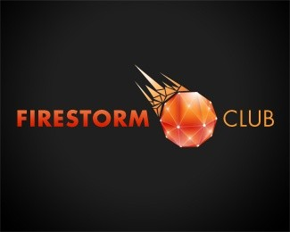 Firestorm Club Logo Design