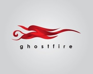 Ghostfire Logo Design