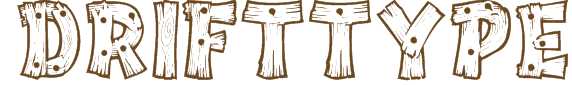 Drift Type Texture Font