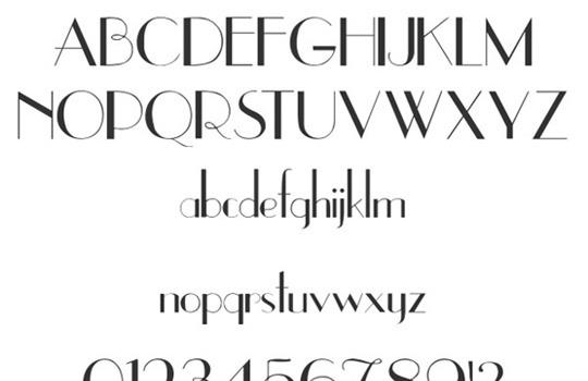 uppereastside font