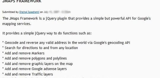 jmaps framework