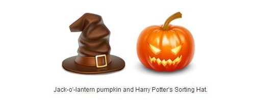 17. Pumpkin and Harry Potter'S Sorting Hat