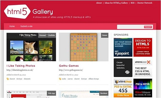 html5 gallery