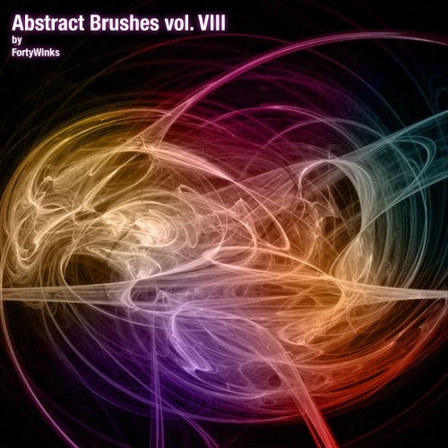 abstract brush pack vol. 8