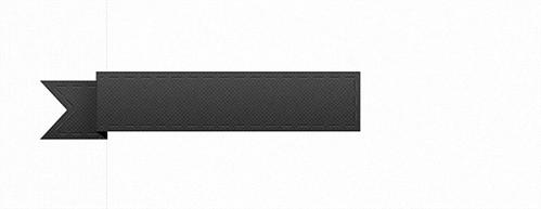 dark ribbons psd web element