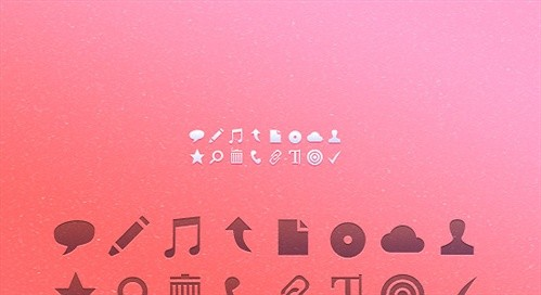 tiny icons psd web element