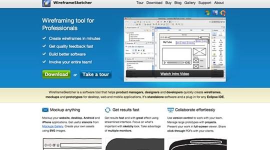 wireframe sketcher wireframe tool