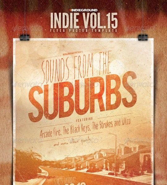 indie flyer/poster vol. 15