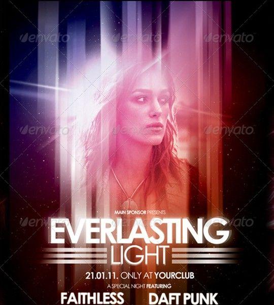 nightclub flyer poster vol.4