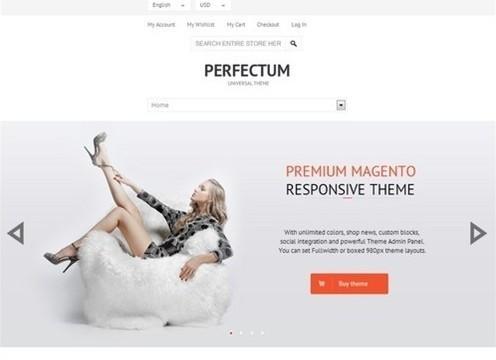 perfectum premium responsive magento theme