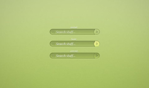 green search bar