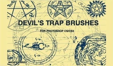 Devil'S Trap Brushes