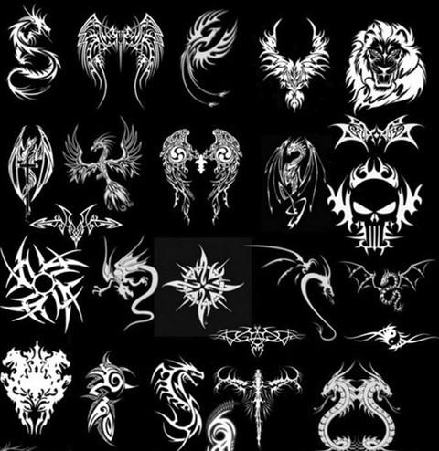dragon tatoo brushes