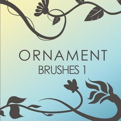 ornament brushes 1