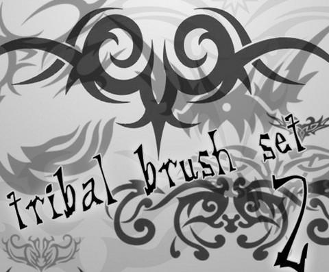 tribal brush set 2