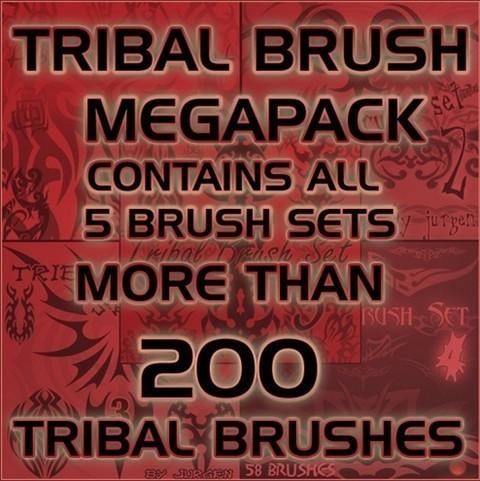 tribal brush megapack