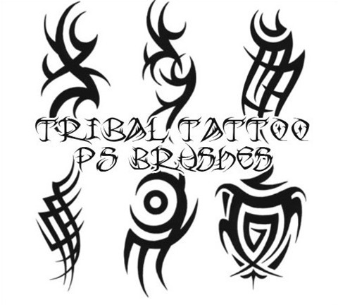 tribal tattoo brushes