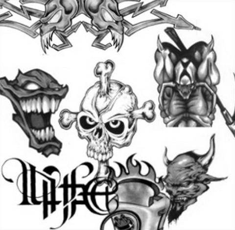 wierd tattoo
