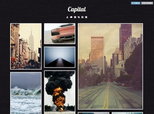 capital – tumblr theme