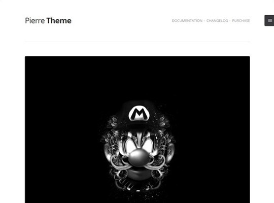 pierre – a super clean tumblr theme