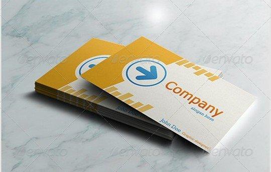 realistic business card mockups v.1