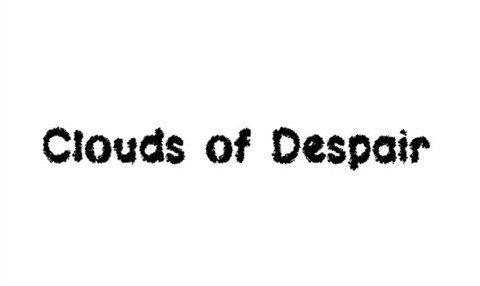 clouds of despair lsf font font