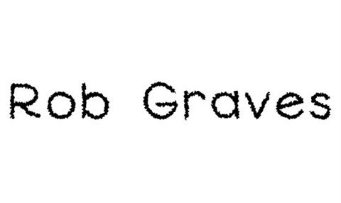 rob graves font font