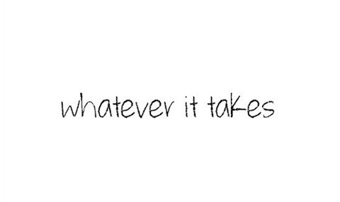 whatever it takes font font