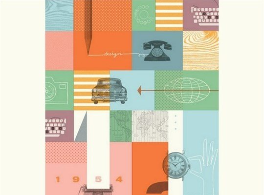 fossil brand poster