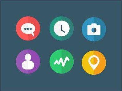 flat icons - othmane machrouh