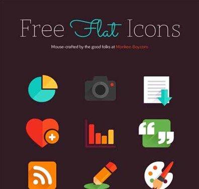 free flat icons - nikki hampson
