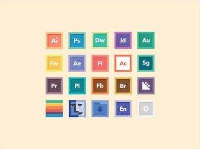 flat program icons - alexander schultz