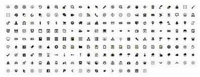 minicons: 210 free minimal flat vector icons