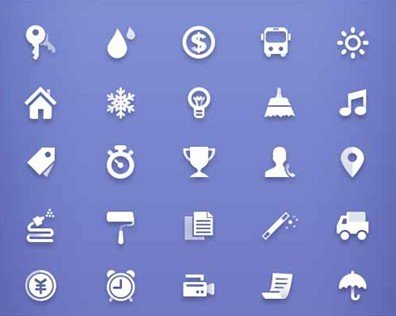35 simple free icons