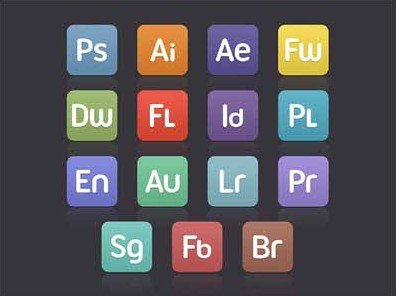 flat custom cs icons