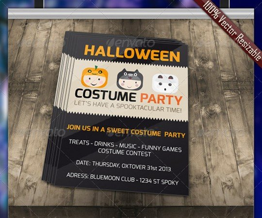Halloween Costume Party Invitation By LordYGG